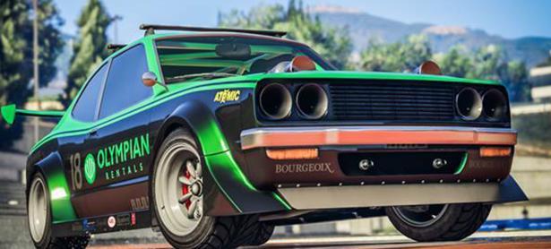 El nuevo auto para <em>GTA Online</em> puede equiparse con ametralladoras