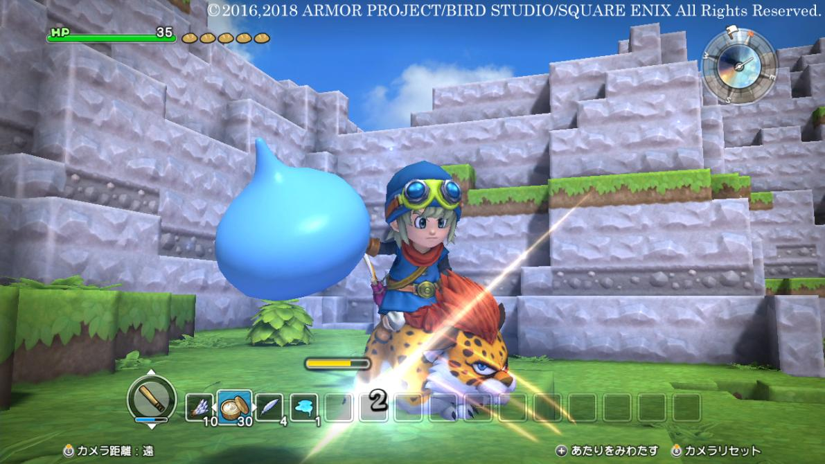 Checa las nuevas capturas de <em>Dragon Quest Builders</em> para Switch