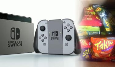Se ganó una Nintendo Switch y le llegó una caja con papas fritas