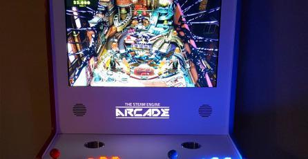 Jugador usa un Steam Link para crear un impresionante gabinete arcade