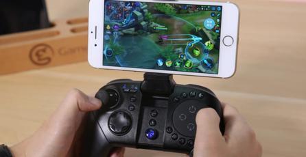Este control está diseñado para jugar MOBA y FPS en celulares