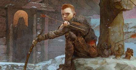 Checa el nuevo e increíble arte de <em>God of War</em>