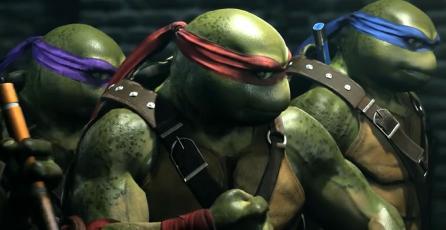 Las Tortugas Ninja muestran su poder en <em>Injustice 2</em>