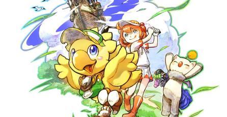 Así luce el contenido de <em>Final Fantasy</em> en <em>Everybody's Golf </em>