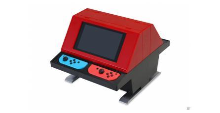 Este accesorio te dejará usar tu Switch como un mini gabinete arcade