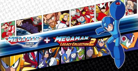 <em>Mega Man Legacy Collection 1 + 2</em> llegarán a Switch en el mismo paquete
