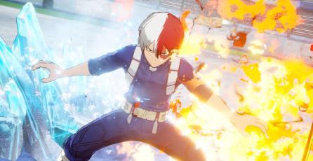 Así peleará Shoto en <em>My Hero Academia: One's Justice</em>