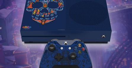 Xbox One S tendrá una edición especial inspirada en <em>Coco</em>