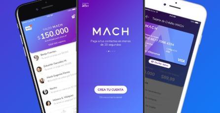 BCI estrena su nueva aplicación <em>MACH</em>, la primera tarjeta de prepago chilena