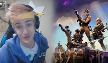 Streamer de <em>Fortnite</em> rompe récords de Twitch ganando 125 mil dólares al mes