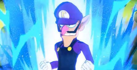 Waluigi es el Dios Saiyan más poderoso de todos en <em>Dragon Ball FighterZ</em>