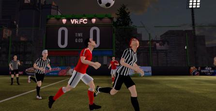 Este juego quiere llevar la intensidad del futbol a la realidad virtual