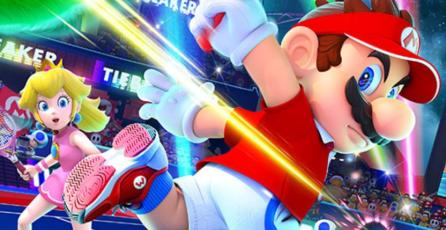 Se filtran carátula y personajes de <em>Mario Tennis Aces</em>