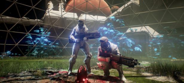 Genesis Alpha One, una curiosa mezcla de FPS, exploración y construcción