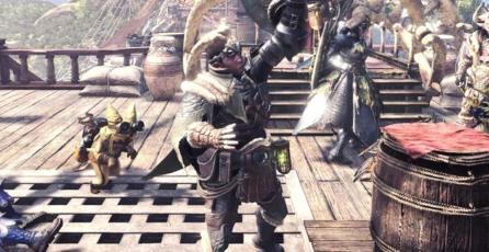 Hoy podrás cambiar el aspecto de tu cazador en <em>Monster Hunter World</em>
