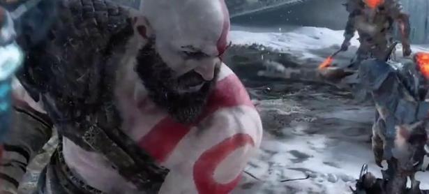 Gameplay muestra el combate y la exploración de <em>God of War</em>