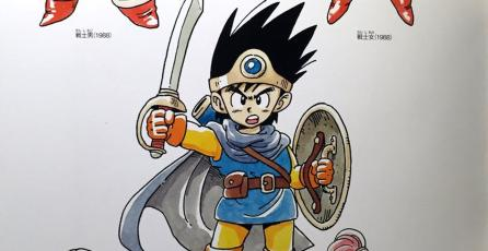 Libro de arte del aniversario de <em>Dragon Quest</em> debutará en América