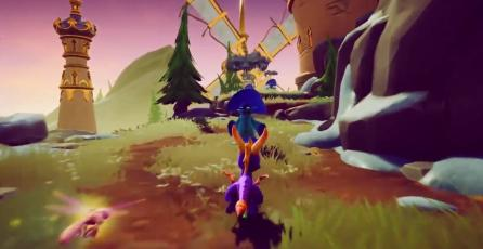 Liberan el primer tráiler de <em>Spyro: Reignited Trilogy</em>