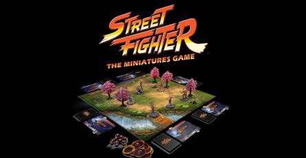 Juego de mesa de <em>Street Fighter</em> es un éxito en Kickstarter
