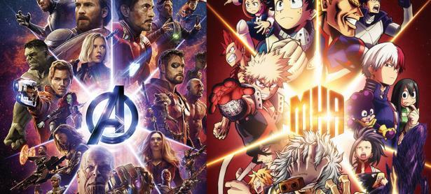 <em>Boku No Hero Academia</em> y <em>Avengers: Infinity War</em> realizan colaboración promocional