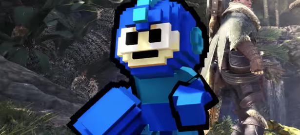 Inicia el evento de Mega Man en <em>Monster Hunter World</em>