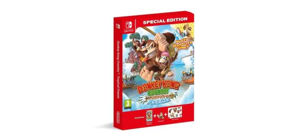 <em>Donkey Kong Country: Tropical Freeze</em> tendrá edición especial