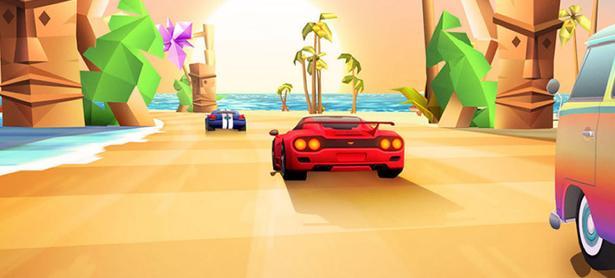 Sentirás nostalgia con las carreras arcade de <em>Horizon Chase Turbo</em>