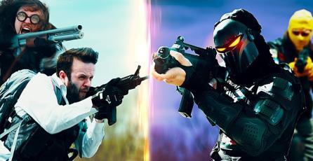 Como sería un enfrentamiento en el mundo real entre <em>PUBG</em> vs <em>Fortnite</em>
