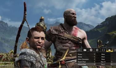 <em>God of War</em> viene incorporado con un robusto modo de fotografía