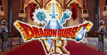 Checa el nuevo trailer de <em>Dragon Quest VR</em>