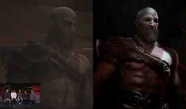 Así lucía <em>God of War</em> para PS4 en su prototipo del año 2015