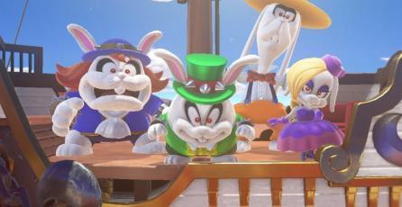 Mario recibe el  atuendo de un villano en <em>Super Mario Odyssey</em>