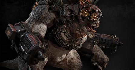 Jefe de <em>Gears of War</em> quiere al Brumak en <em>Monster Hunter World</em>