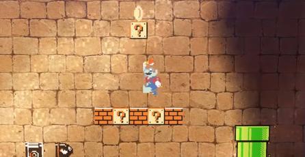Así se ve Mario vestido de zombie en <em>Super Mario Odyssey</em>
