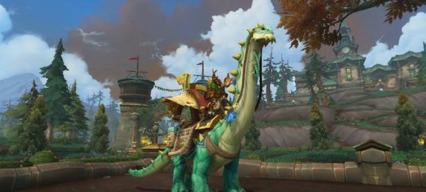 Montura de brontosaurio costará 5 millones de oro en Battle for Azeroth