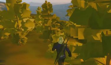 La particular experiencia de jugar The Witcher 3 con los gráficos al mínimo