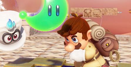 Juntan 880 energilunas de <em>Super Mario Odyssey</em> en tiempo récord