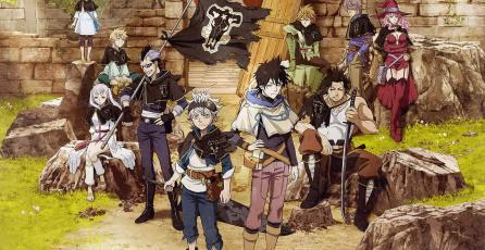 La acción de <em>Black Clover: Quartet Knights</em> llegará en septiembre