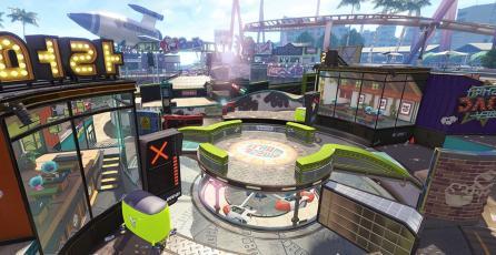 El nuevo mapa para <em>Splatoon 2</em> te lleva a un parque de diversiones