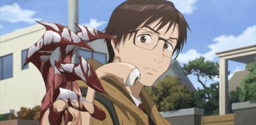 Parasyte: la amenaza alienígena es R-17 en este sangriento anime de acción