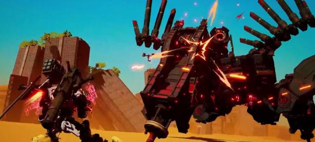 Con trailer robotico presentan Daemon Ex Machina para Switch