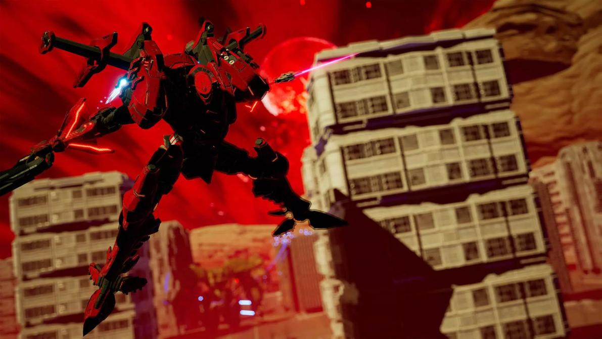 Checa las primeras capturas de <em>Daemon X Machina</em>