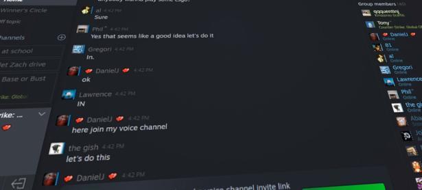 Steam actualiza su chat e incorpora nuevas funciones