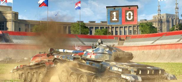 <em>World of Tanks</em> celebra el Mundial con modo de juego de futbol
