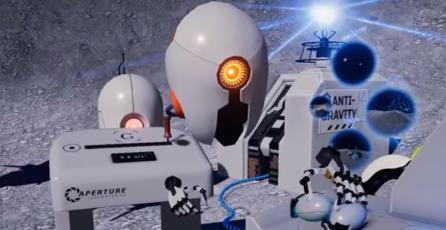 Valve promociona su nuevo control VR con demo basado en <em>Portal</em>