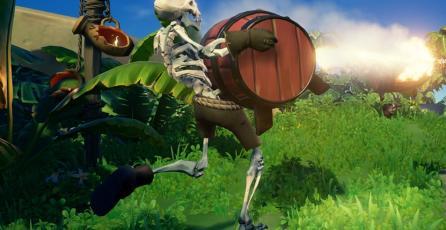 Esqueletos explosivos te esperan en el nuevo evento de <em>Sea of Thieves</em>