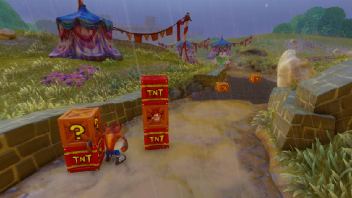 Así se ve <em>Crash Bandicoot N. Sane Trilogy</em> en Nintendo Switch