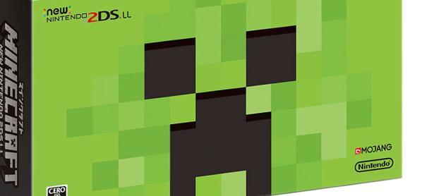Checa el New Nintendo 2DS XL Creeper Edition de <em>Minecraft</em>