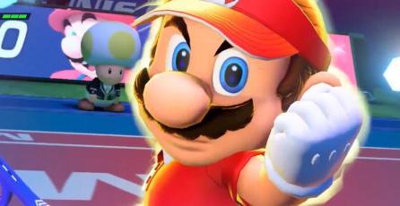 <em>Mario Tennis Aces</em> fue el juego más vendido de la semana en Japón