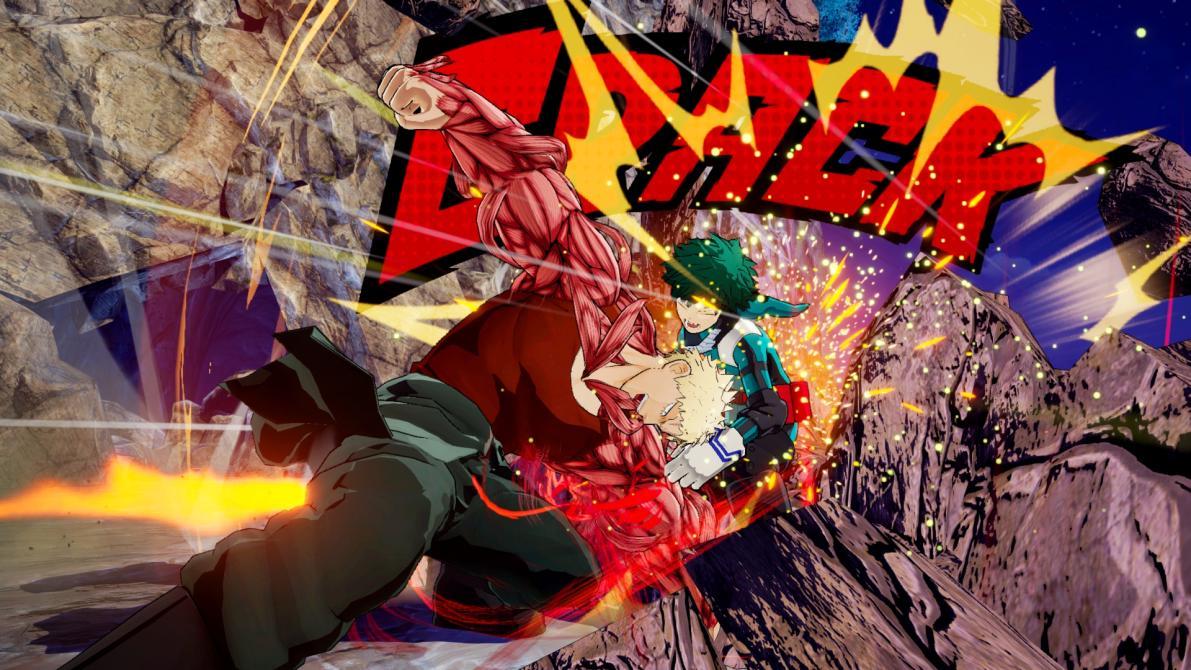 Aquí están las nuevas capturas de <em>My Hero One's Justice</em>